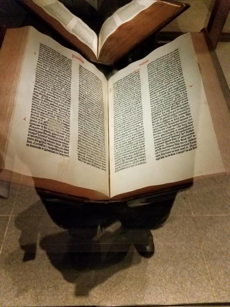 guttenberg bible